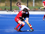 John McGlashan College v St Bebes India Shield Final. Rankin Cup and India Shield 2019 Secondary School Hockey Tournament, Nga Puna Wai Sports Hub, Christchurch, Saturday 07 September 2019. Photo: Martin Hunter/Hockey NZ