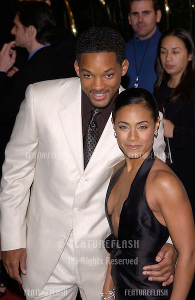 Actor WILL SMITH & actress wife JADA PINKETT SMITH at the Broadcast Film Critics Association's 7th Annual Critics Choice Awards at the Beverly Hills Hotel..11JUN2002...© Paul Smith/Featureflash
