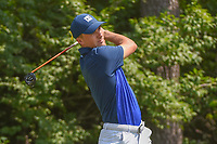 Jordan Spieth (USA) watches his tee shot on 9 during 3rd round of the 100th PGA Championship at Bellerive Country Club, St. Louis, Missouri. 8/11/2018.<br /> Picture: Golffile | Ken Murray<br /> <br /> All photo usage must carry mandatory copyright credit (&copy; Golffile | Ken Murray)