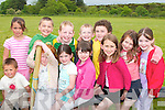 Youngsters enjoying themselves at the fun day at the sport grounds in Lyrecrompane on Sunday were Cian Monday, Ciarn Walsh, Caoimhe Nolan, Maired McKenna, Niamh Nolan, Jake Shanahan, Eoin Buckley, Mike Keane, Edmund Healy, Lucy Regan, and Maura Trant...   Copyright Kerry's Eye 2008