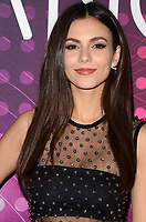 LOS ANGELES - DEC 1:  Victoria Justice at the amfAR Dance2Cure Kickoff Event at the Bardot on December 1, 2018 in Los Angeles, CA