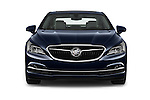Car photography straight front view of a 2017 Buick LaCrosse Essence 4 Door Sedan Front View