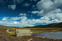 Old Boathouse, Loch Muick, Cairngorms National Park, Aberdeenshire