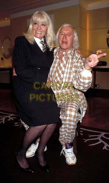 WENDY RICHARD & JIMMY SAVILLE.eastenders.Ref: 7370.www.capitalpictures.com.sales@capitalpictures.com.© Capital Pictures