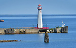 Wawatam Lighthouse in St. Ignace, Michigan.