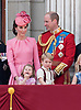 17.06.2017; London, UK: PRINCESS CHARLOTTE AND PRINCE GEORGE <br /> joined other members of the royal family for the Trooping The Colour to celebrate the Queen&rsquo;s 91st Official Birthday<br /> Royals present included the Duke of Edinburgh, Prince Charles and Camilla, Duchess of Cornwall, Prince William, Kate Middleton, Prince George; Princess Charlotte; Prince Harry, Prince Andrew; Princess Beatrice, Princess Eugenie, Prince Edward, Princess Anne,Prince and Princess Michael Of Kent, Lady Helen Taylor, Duke of Kent, Duke of Gloucester and Duchess of Gloucester,Peter Phillips and Autumn and Lady Amelia Windsor.<br /> Mandatory Credit Photo: &copy;Joe Dias/NEWSPIX INTERNATIONAL<br /> <br /> IMMEDIATE CONFIRMATION OF USAGE REQUIRED:<br /> Newspix International, 31 Chinnery Hill, Bishop's Stortford, ENGLAND CM23 3PS<br /> Tel:+441279 324672  ; Fax: +441279656877<br /> Mobile:  07775681153<br /> e-mail: info@newspixinternational.co.uk<br /> Usage Implies Acceptance of OUr Terms &amp; Conditions<br /> Please refer to usage terms. All Fees Payable To Newspix International