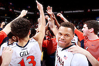 Virginia guard Justin Anderson (1) during an ACC basketball game Jan. 13, 2015 in Charlottesville, VA Virginia won 65-42.