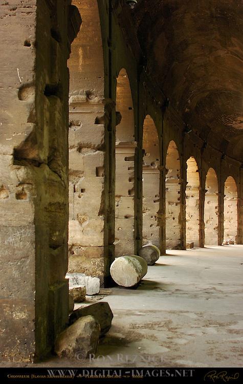 Colosseum Perimeter Ambulatory Arcade Rome