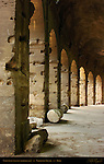 Colosseum Perimeter Ambulatory Arcade Rome