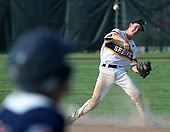 Royal Oak Shrine comes up short to the Patriots of Unionville-Sebewaing 4-3 in Division 4 quarterfinal baseball action at Grand Blanc High School Tuesday, June 13, 2017. Photos: Larry McKee, L McKee Photography. PLEASE NOTE: ALL PHOTOS ARE CUSTOM CROPPED. BEFORE PURCHASING AN IMAGE, PLEASE CHOOSE PROPER PRINT FORMAT TO BEST FIT IMAGE DIMENSIONS. L McKee Photography, Clarkston, Michigan. L McKee Photography, Specializing in Action Sports, Senior Portrait and Multi-Media Photography. Other L McKee Photography services include business profile, commercial, event, editorial, newspaper and magazine photography. Oakland Press Photographer. North Oakland Sports Chief Photographer. L McKee Photography, serving Oakland County, Genesee County, Livingston County and Wayne County, Michigan. L McKee Photography, specializing in high school varsity action sports and senior portrait photography.
