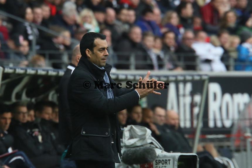 Trainer Robin Dutt (Werder) - Eintracht Frankfurt vs. SV Werder Bremen
