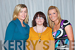 Enjoying the Fashion Show in Kirby's Lanterns Hotel Tarbert on Wednesday night were Caroline Sheehy, Sarah Murray and Katie Mullane, all from Athea.   Copyright Kerry's Eye 2008