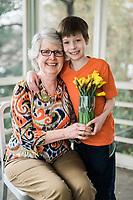 Jonah   Grandma   Daffodils