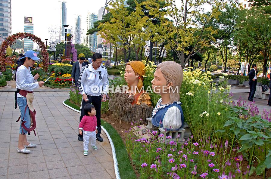 Festival de flores em Seul. Coréia do Sul. 2009. Foto de Thaïs Falcão.