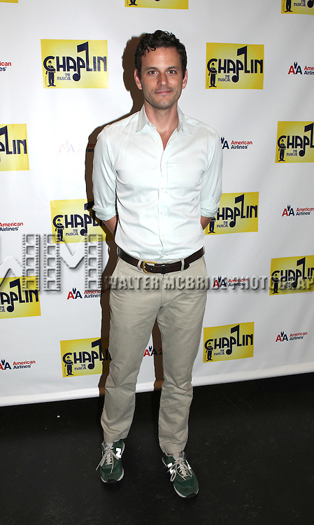 Wayne Alan Wilcox.attends the Meet & Greet the cast of the New Broadway Show 'Chaplin The Musical'  at Foxwoods Theater Rehearsal Studios on August 7, 2012 in New York City.