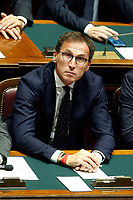 Minister of Regional Affairs Francesco Boccia<br /> Rome September 9th 2019. Lower Chamber. Programmatic speech of the new appointed Italian Premier at the Chamber of Deputies to explain the program of the yellow-red executive. After his speech the Chamber is called to the trust vote at the new Government. <br /> Foto  Samantha Zucchi Insidefoto