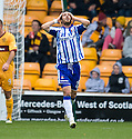 KILMARNOCK'S MANUEL PASCALI AFTER HIS GOAL WAS DISALLOWED BY REFEREE CRAIG THOMSON