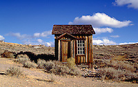 Ghost town cabin, Bodie, California. Bodie, California.