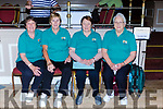 Maura Byrnes, Margaret Kearns, Connie Fitzgerald and Helen Curtin Clarina team that played in the National Bowls finals in the INEC on Wednesday