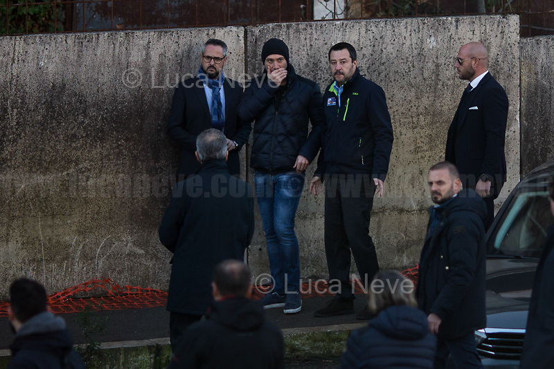 Matteo Salvini (Deputy Prime Minister & Minister of the Interior – Leader of the League - Lega).<br />