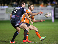 Picture by Alex Whitehead/SWpix.com - 06/03/2015 - Rugby League - First Utility Super League - Castleford Tigers v Wigan Warriors - the Mend A Hose Jungle, Castleford, England - Castleford's Luke Gale.