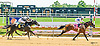 Unblunted winning at Delaware Park on 6/28/16