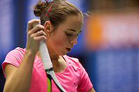 Rotterdam,Netherlands, December 15, 2015,  Topsport Centrum, Lotto NK Tennis, Bibiane Weijers (NED) <br /> Photo: Tennisimages/Henk Koster