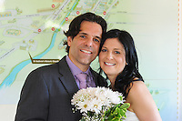 NEWTOWN, PA - MAY 31, 2013: Marie-Helen & Stephane wedding May 31, 2013 in Newtown, Pennsylvania. (Photo by William Thomas Cain/Cain Images) http://www.loveweddingphotos.com