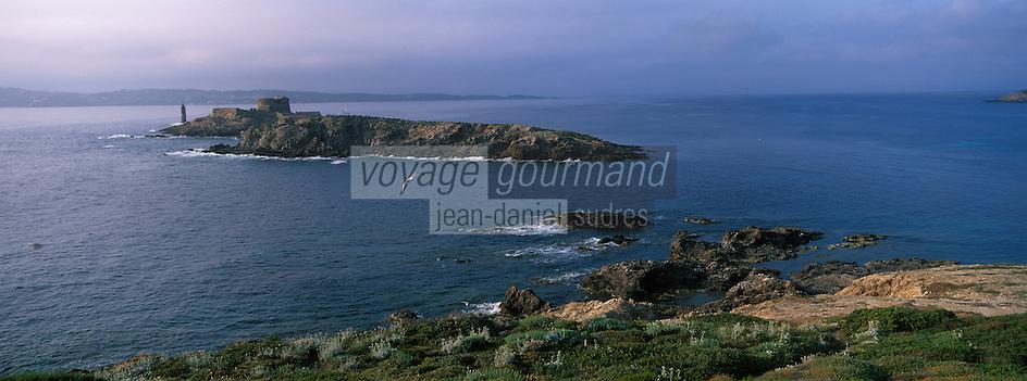 Europe/Provence-Alpes-Côte d'Azur/83/Var/Iles d'Hyères/Ile de Porquerolles: Fort du Petit Langoustier