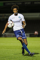 Sido Jombati of Wycombe Wanderers during The Checkatrade Trophy match between Northampton Town and Wycombe Wanderers at Sixfields Stadium, Northampton, England on 30 August 2016. Photo by David Horn / PRiME Media Images.