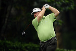 TAIPEI, TAIWAN - NOVEMBER 18:  David Merriman of Australia tees off on the 16th hole during day one of the Fubon Senior Open at Miramar Golf & Country Club on November 18, 2011 in Taipei, Taiwan. Photo by Victor Fraile / The Power of Sport Images