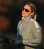 Kerri Handras, New York Institute of Technology women's lacrosse head coach, runs practice on NYIT's campus in Old Westbury on Wednesday, Oct. 19, 2016.