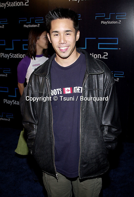 Perry Shen arriving at the PlayStation 2 E3 party at the American Legion in Los Angeles  5/15/2001 © Tsuni          -            ShenPerry02.jpg