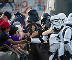"A photograph from the Reno Aces ""Star Wars Night"" in Reno on Saturday, June 8, 2019."