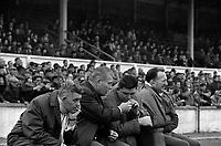 Fumeurs au stade, 1960