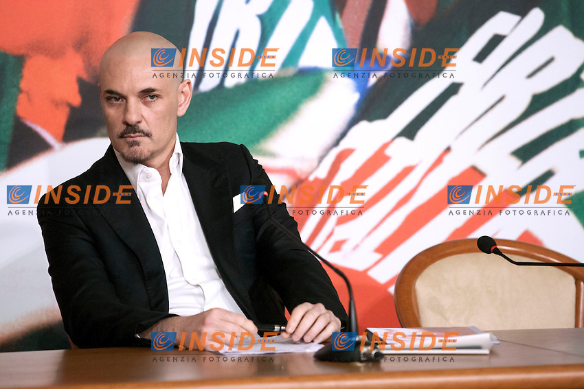 Edoardo Silos Labini<br /> Roma 07-05-2014 Sede di Forza Italia. Conferenza stampa sulle politiche per la cultura.<br /> Press conference on Forza Italia Culture Program<br /> Photo Samantha Zucchi Insidefoto