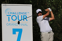 Richard Bland (ENG) on the 7th tee during Round 1 of the Challenge Tour Grand Final 2019 at Club de Golf Alcanada, Port d'Alcúdia, Mallorca, Spain on Thursday 7th November 2019.<br /> Picture:  Thos Caffrey / Golffile<br /> <br /> All photo usage must carry mandatory copyright credit (© Golffile | Thos Caffrey)