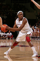 STANFORD, CA - FEBRUARY 7:  Nnemkadi Ogwumike of the Stanford Cardinal during Stanford's 77-39 win over USC on February 7, 2010 at Maples Pavilion in Stanford, California.
