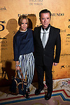 Ortega Cano and her daughter Gloria Camila Cano attends to delivery Paquiro bulls prize at the Ritz Hotel in Madrid. 01 October 2015.<br /> (ALTERPHOTOS/BorjaB.Hojas)