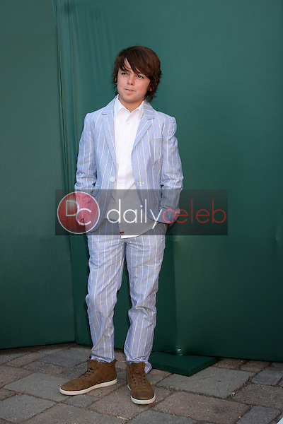 LOS ANGELES - JUL 8:  Max Charles at the Crown Media Networks July 2014 TCA Party at the Private Estate on July 8, 2014 in Beverly Hills, CA