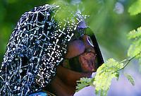 Bedouin woman, Abu Dhabi.