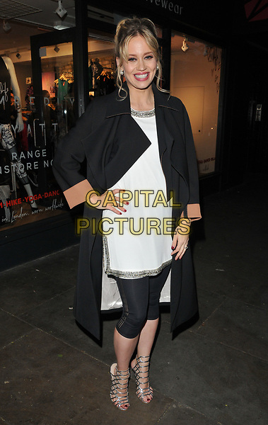 Kimberly Wyatt at the Kimberly Wyatt for Zakti Activewear VIP drinks party, Zakti Islington Store, Upper Street, London, England, UK, on Tuesday 25 April 2017.<br /> CAP/CAN<br /> &copy;CAN/Capital Pictures