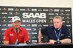 Graeme McDowell (NIR).in the interview room after the first round of the Saab Wales Open at Celtic Manor 2010 course Newport, Wales. 2/6/11.Picture: Fran Caffrey/ www.golffile.ie .