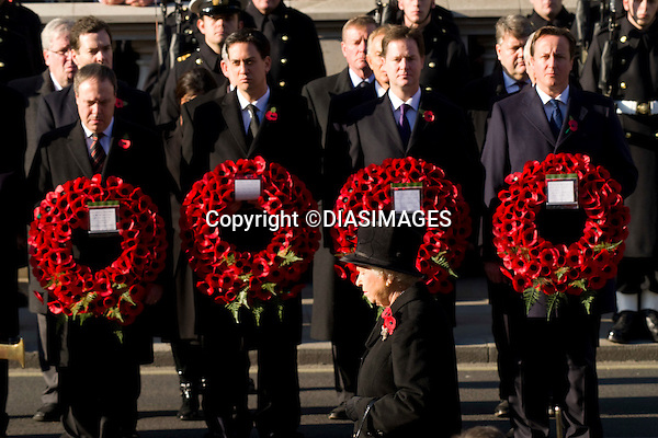"""ROYALS ATTEND REMEMBRANCE SERVICE.Kate's attended her 1st Remembrance Service with members of the Royal Family at the Cenotaph, London_13th November 2011.They included Princess Alexandra, Dukwe and Duchess of Gloucester.Photo Credit Mandatory: ©Dias/DIASIMAGES..Mandatory credit photo:©DIASIMAGES(Failure to credit will incur a surcharge of 100% of reproduction fees)..**ALL FEES PAYABLE TO: """"NEWSPIX  INTERNATIONAL""""**..IMMEDIATE CONFIRMATION OF USAGE REQUIRED:.DiasImages, 31a Chinnery Hill, Bishop's Stortford, ENGLAND CM23 3PS.Tel:+441279 324672  ; Fax: +441279656877.Mobile:  07775681153.e-mail: info@newspixinternational.co.uk"""
