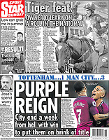Daily Star Sunday - 15-Apr-2018 - 'PURPLE REIGN' - Photo by Rob Newell (Camerasport via Getty Images)