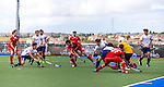 Russia vs Trinidad at World League Round 2 in Chula Vista, California.