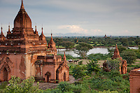 The 26 square mile plain of Bagan contains over 4000 temples that date back centuries