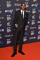 Sir Mo Farah<br /> arriving for the BT Sport Industry Awards 2018 at the Battersea Evolution, London<br /> <br /> ©Ash Knotek  D3399  26/04/2018