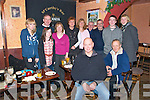 Mccarthy's Bar, Finuge : Ringing in the New Year at McCarthy's Bar in Finuge were Oakley Smith, Imelda Kissane, Tom Kissane, Shelia Kissane,Julie Royston, Sue Troughton, Bryan Troughton, Steve Royston, Christopher Kissane, Jordan Smith and in front Gareth Williams & Pat Harnett.