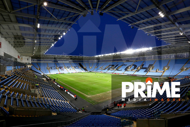 General View of the Richo Arena before the Sky Bet League 1 match between Coventry City and Fleetwood Town at the Ricoh Arena, Coventry, England on 12 March 2019. Photo by Leila Coker / PRiME Media Images.